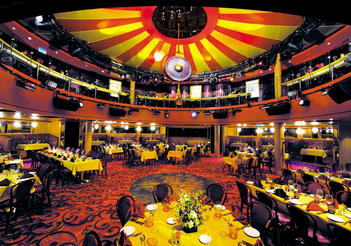 Spiegel Tent - Cirque Dreams & Dinner
