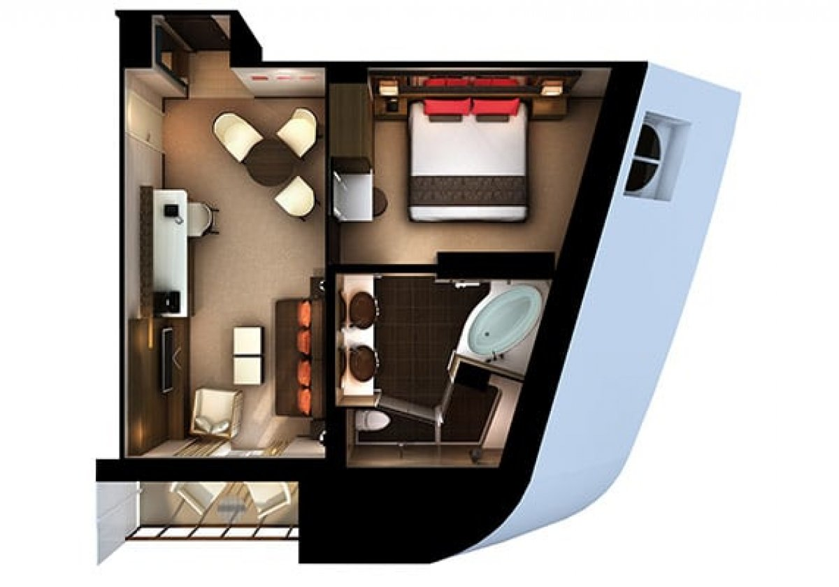 The Haven Penthouse - plan