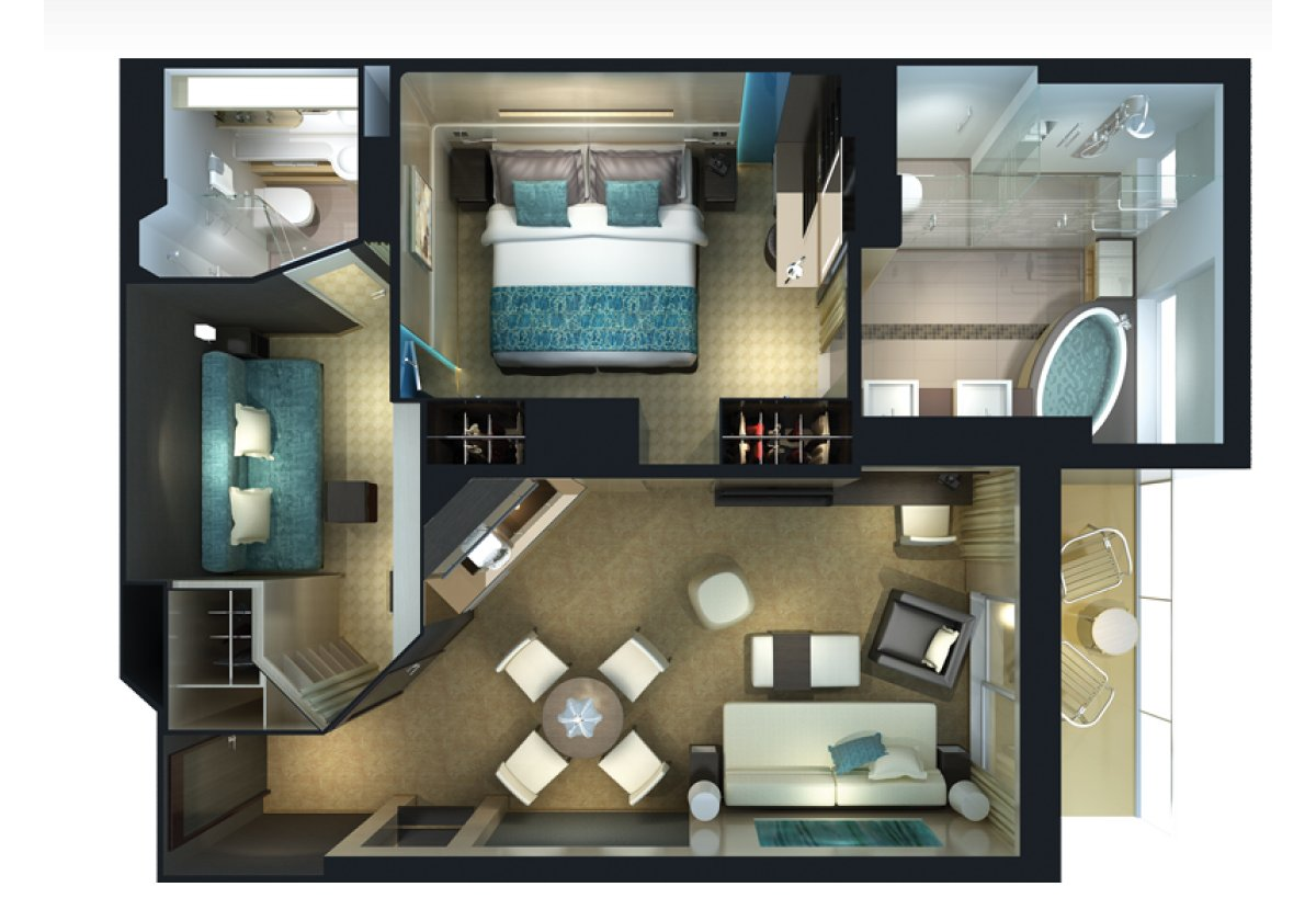 The Haven Family Villa - plan