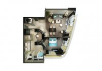 The Haven Deluxe Owner's Suite - plan