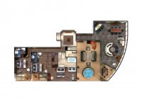 The Haven Garden Villa - plan